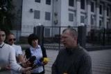 В Киеве под посольством России прошел митинг в поддержку пяти до