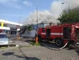 Возле станции метро «Дарница» сгорел рынок