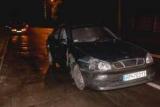 В Киеве иностранец на Daewoo автомобиль полиции протаранил