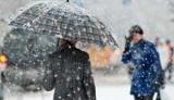 Погода на сегодня: на западе и в некоторых центральных областях снег с дождем, температура будет до +8